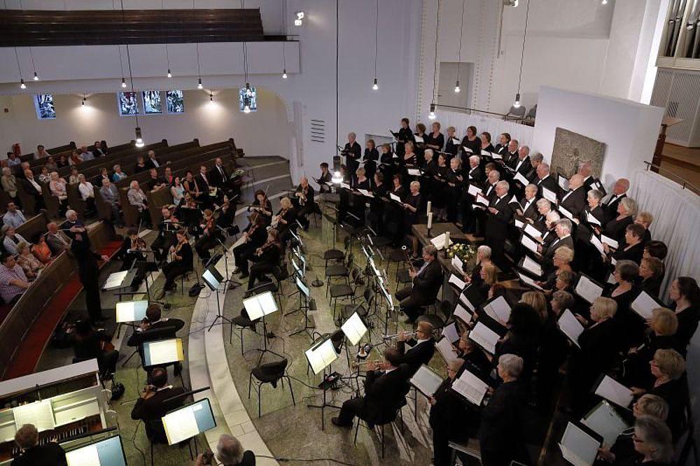 Chorkonzert De Deum Laudamus
