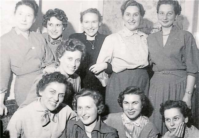 Ein Foto aus der damaligen Zeit.